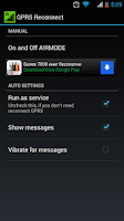 Screenshot of GPRS Reconnect