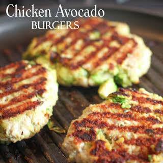 Chicken Avocado Burger Recipes.