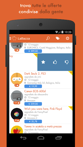 LaBazza - offerte social