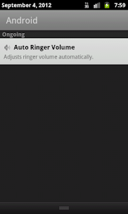 Auto Ringer Volume- screenshot thumbnail