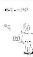 Screenshot of Cute wallpaper★Balloon cat