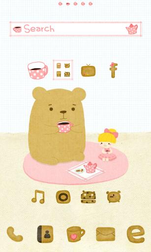 Tea girl dodol launcher theme