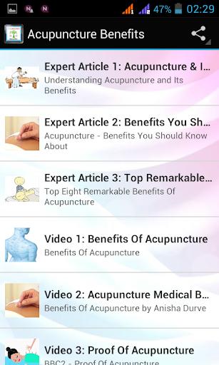 【免費健康App】Acupuncture Benefits-APP點子