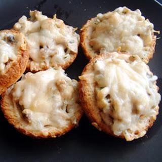 Mushroom Toast Cups