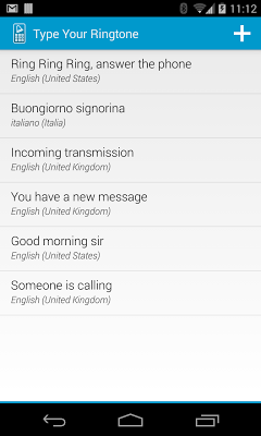 Type Your Ringtone Pro 2.1.0 APK