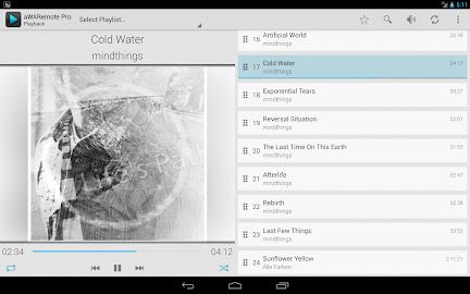 aWARemote for Winamp® Screenshot 11