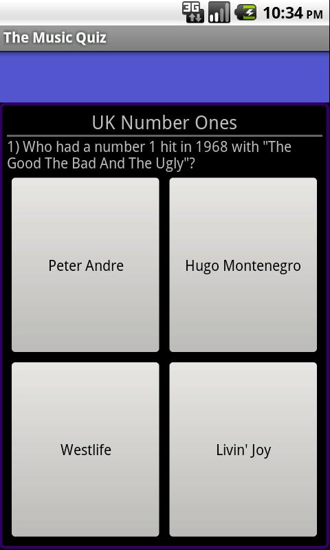 The Music Quiz- screenshot