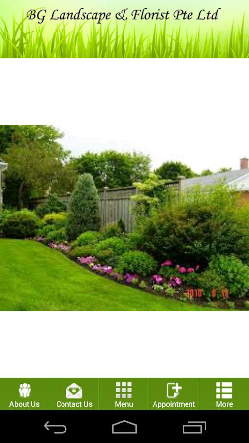 Garden And Landscape Pte : Bg landscape florist pte ltd android apps on google play
