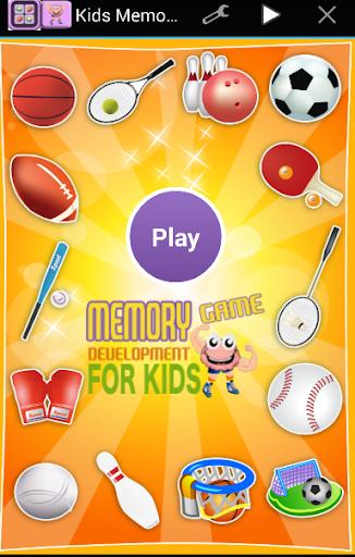 Memoy Game Kids