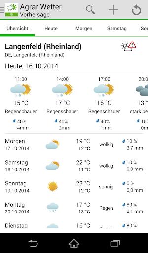 Bayer Agrar Wetter 3.75 screenshots 1
