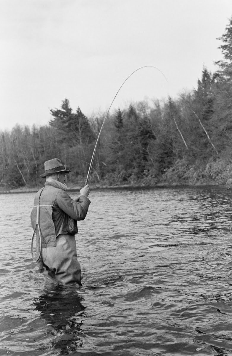 John A. Knight Fishing-Spring