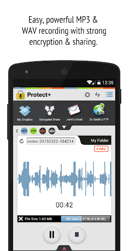 Protect+ Voice Recorder Free