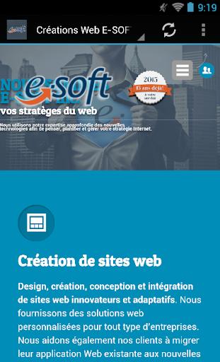 Créations Web E-SOFT inc.
