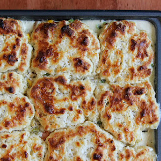 Rustic Chicken and Vegetable Cobbler Recipe