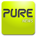 Pure news widget (scrollable) logo
