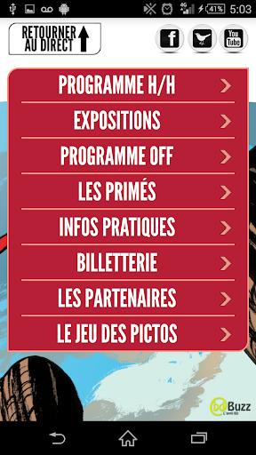 【免費漫畫App】Quai des Bulles 2014-APP點子