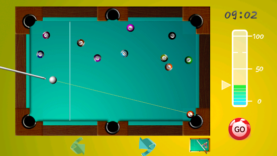 a description of billiards a game played on a rectangular table half as wide as it is long Played on a pool table with six pockets, the game is so universally known in some countries that beginners are often unaware of other pool games and believe the word pool itself refers to eight-ball the game has numerous variations, mostly regional standard eight-ball is the second most competitive professional pool game, after nine.
