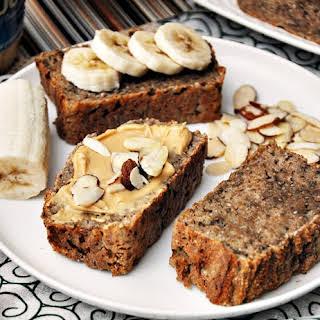 5 Ingredients Spelt & Chia Seeds Banana Bread, Vegan Friendly.