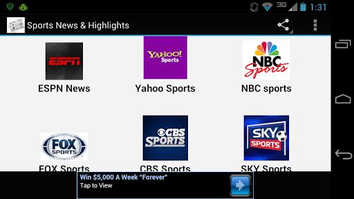 Sports News Highlights