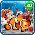 3D Aquarium Live Wallpaper HD icon