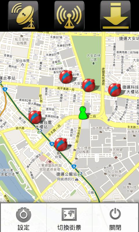 Find Lottery Map - screenshot