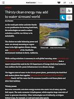 Screenshot of New Scientist