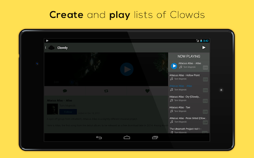 Clowdy - Connecting Creatives - screenshot thumbnail