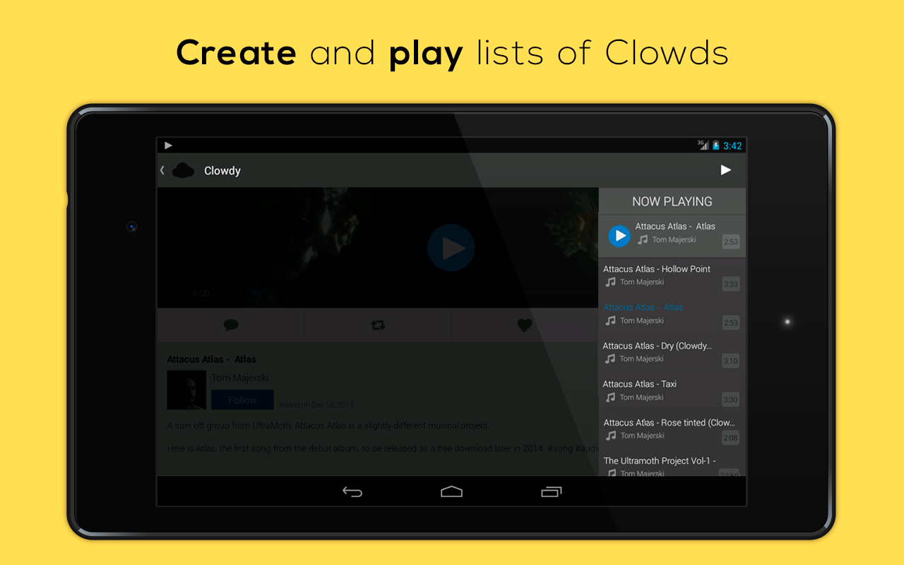 Clowdy - Connecting Creatives - screenshot