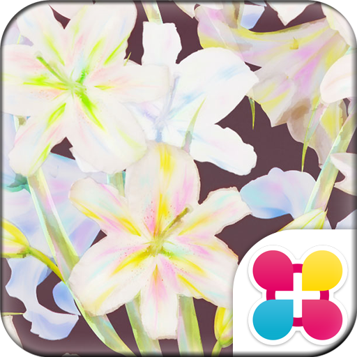 Flower Wallpaper Vintage Lily Icon
