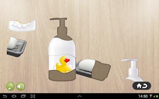 Screenshot of Free Kids Puzzle - Bathroom