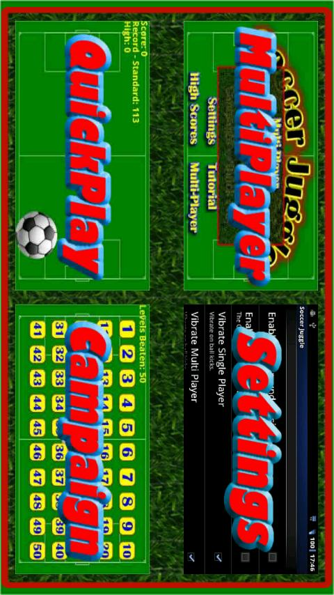 Soccer Juggle Trial!- screenshot