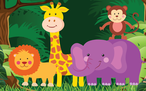 Cute Jungle for Toddlers