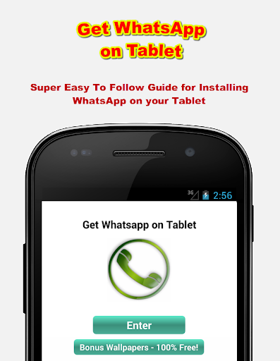 Get WhatsApp on Tablet