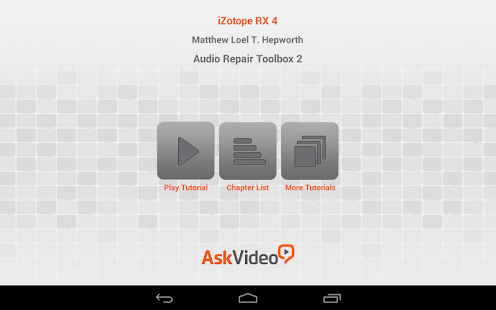 Audio Repair Toolbox 2 for RX4 - Apps on Google Play