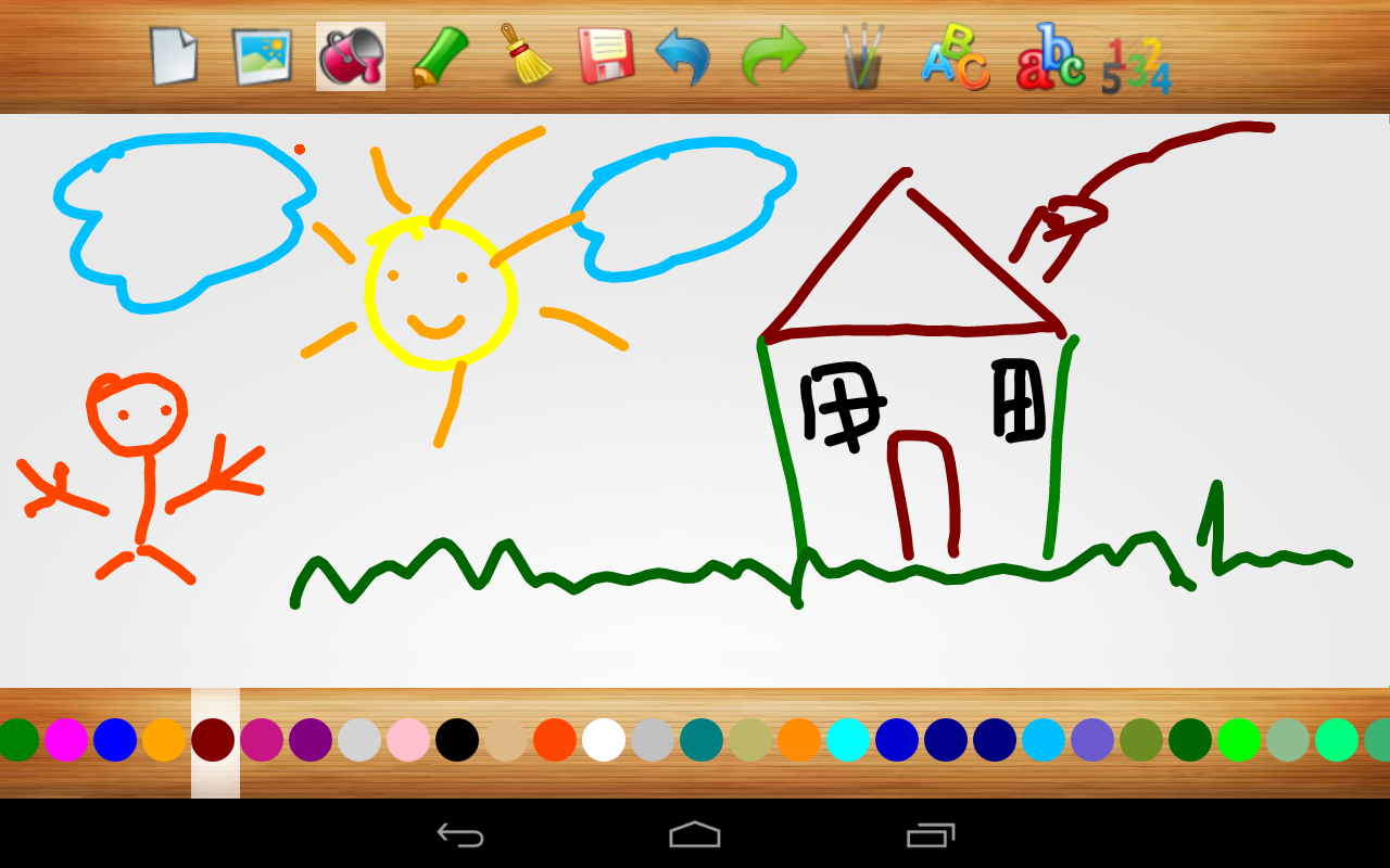 Finger Painting Write Abc 123 Android Apps On Google Play