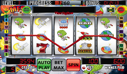 Mega Space Slot Machine - screenshot thumbnail