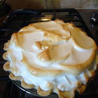 Butterscotch Cream Pie.