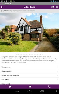 Zoopla Property Search - screenshot thumbnail