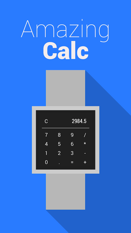 Calc for Wear - screenshot