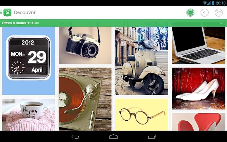android Shpock Flohmarkt Kleinanzeigen Screenshot 6
