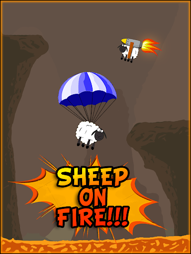 Sheep on Fire