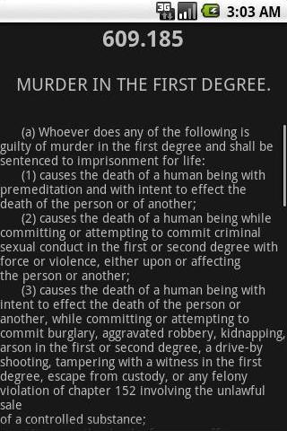 MNLaw Criminal Law 152,609-634- screenshot