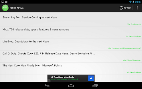 XBOX One News - screenshot thumbnail