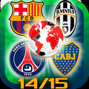 Logo quiz 14/15 fotbollslag APK