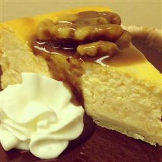 Sweet Potato Cheesecake.
