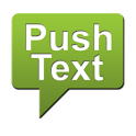 Push Text icon