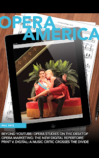 Opera America Magazine - screenshot thumbnail