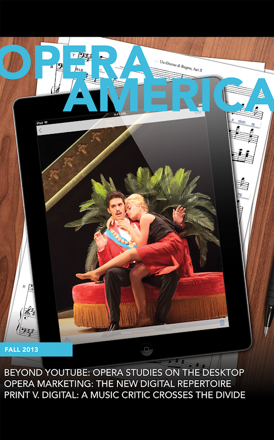 Opera America Magazine - screenshot