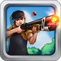 99 Bullets Bottle Shooting icon