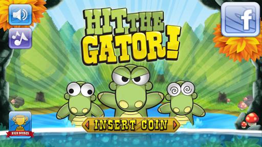 【免費休閒App】Hit the Gator-APP點子